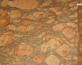 EMERALD Natural Cork Fabric (U.S.A Supplier) - Made in Portugal - Vegan - Sustainable - Leather Alternative - PETA approved