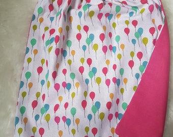 Child's napkin balloons