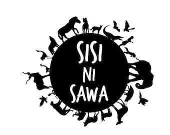 Sisi Ni Sawa decal