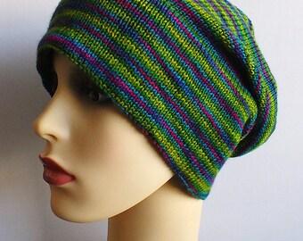 Slouchy Wool Hat