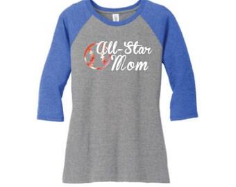 Baseball Mom Shirt, Baseball Raglan, Custom Baseball Shirt, Sports Mom Clothing, Baseball Bat Tee, Tball Mom