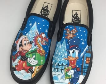 Mickey Mouse & Donald Duck Slippers