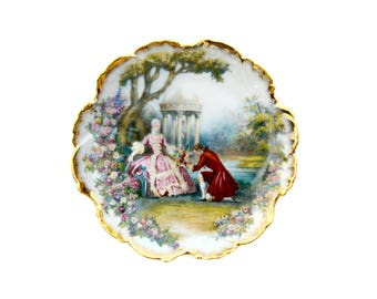 DECORATING PLATE LIMOGES