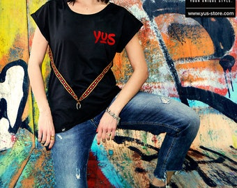 Customizable t-shirt YUS-Your Unique Style | Handmade | Tailoring | Custom t-shirts | Personalized | Embroidery