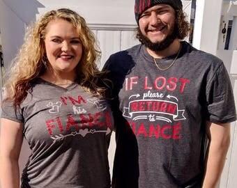 CUSTOM If Lost, Please Return Couples Shirt