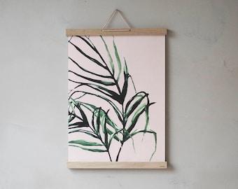 Plants print rose