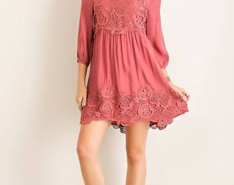 Solid Baby Doll Dress!