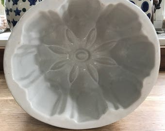 Vintage Ironstone Jelly Mould