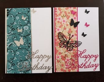 Handcrafted Birthday cards