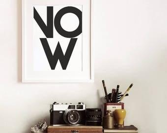 Minimalist art, poster print, modern poster, modern interior art, nordic decor, scandi wall art, gift for him, gift for man, teens room