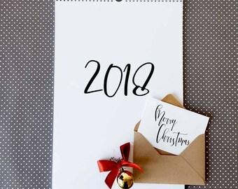 Family planner 2018 | Etsy