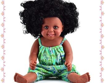 16inch Black Doll