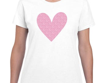 Valentines Day Shirt Women, Womens Valentines Shirt, XOXO Shirt, Heart Tee, Heart Shirt, Graphic Tee, Love Shirt, Love Clothing Heart Tshirt
