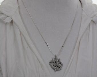 Silver Ohm Necklace