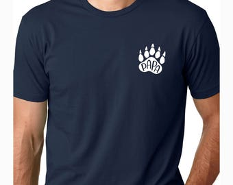 dad shirt, dog dad shirt, dog daddy, papa bear, gift for dad, father gift, father's day gift, daddy shirt, gift for father, gift for husband