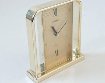 Vintage Japan SEIKO TABLE Clock