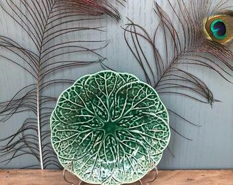 Vintage Cabbage Plate
