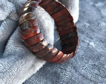 Red Jasper Stretch Bracelet
