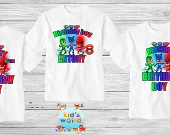 Family birthday shirt, Custom shirt ,personalized pj  Shirt , family shirt,birthday shirt,kids custom birthday shirt d6