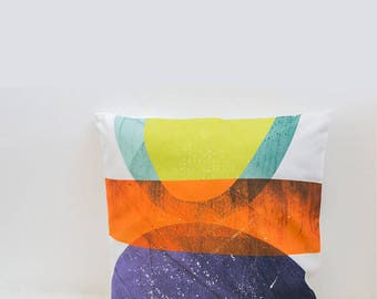 Geometric pillow cover cushion cover Midcentury decor accent throw pillows abstract modern living room decor abstract pillow designer pillow