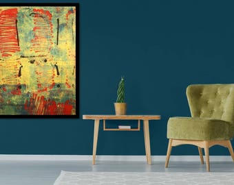 Original Framed Art Print by Nick CONNER collection 2B