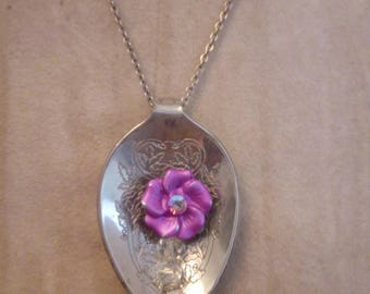 Spring Flower Spoon Necklace