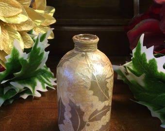 Glass Single Flower Holiday/Christmas Vase
