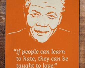 Nelson Mandela Tea Towel