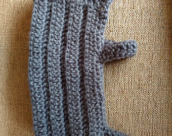 Reflective pet sweater