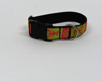 SALE!! Nautical Dog Collar - Small