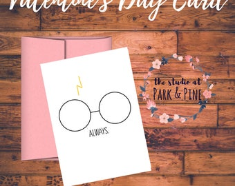 Printable Valentine's Day Card - Always