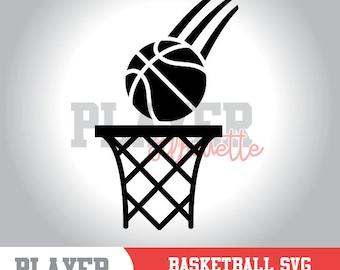 Basketball SVG, Basketball Sport svg, Basketball Image digital clipart, Basketball silhouette, cut file, design, A-051