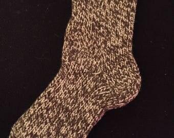 Marbled Hen Winter Socks