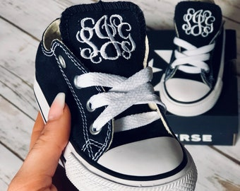 Infant/Toddler Monogrammed Converse