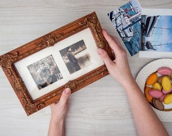 "Wooden photo frame ""Genève"""
