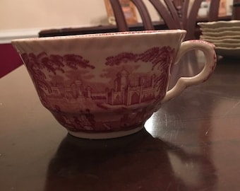 Mason's Ironstone Vista coffee cup