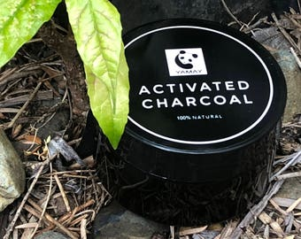 Charcoal Teeth Whitening Powder 100% Natural Organic Coconut Activated Powder