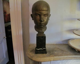 Bronze Boy's Head,