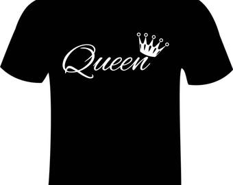 Pair of King & Queen T-Shirts