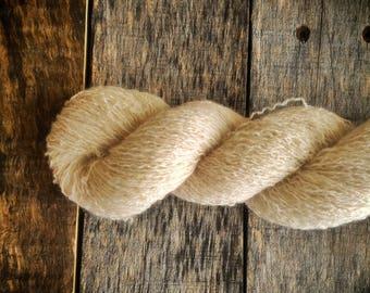 Cream 100% Cashmere Recycled Yarn