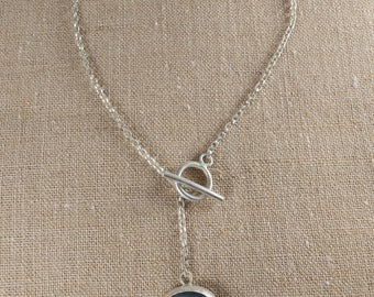 About Town - Silver and Labradorite Necklace