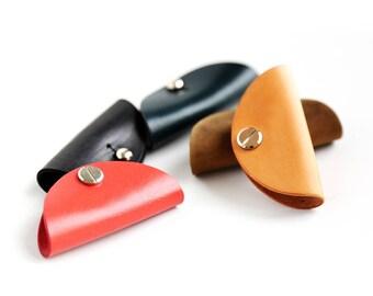 leather cord keeper earphone case eaphone organizer cord organizer eaphone holder eaphone storage iphone earbud holder