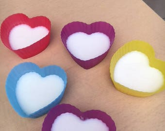 2 Handmade Large Soy Wax Tarts - Beautifully Scented - Winter Warmer Scents