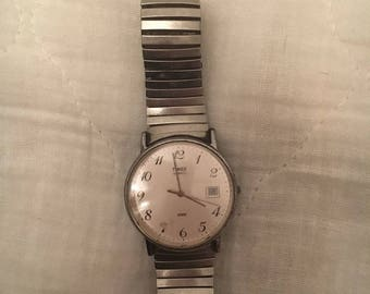 Vintage Timex Mens Mechanical Watch with date