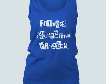Fitness Protection - Womens / Tank Top / V-Neck / Fitted Tee