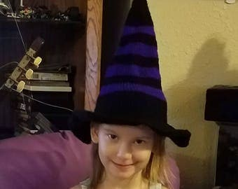 Knitted Witch's Hat