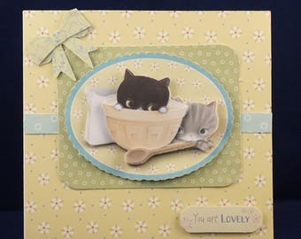 Handmade Card - You Are Lovely