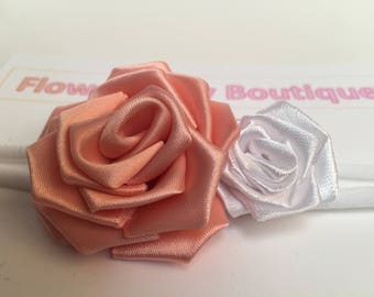 Nylon Baby Headband~Hair Accessories for Babies~Baby Headband Bow~Newborn Baby Girl Headband~Baby Girl Hair Accessories~Baby Girl Headband