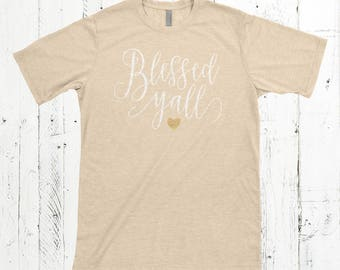 Blessed Y'all Tee