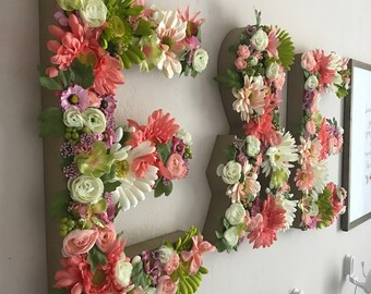 Floral Custom Letter